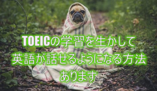 TOEIC800点・900点あるのに英語が話せない