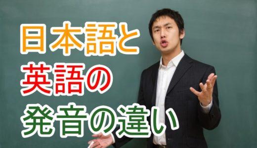 英語発音の基本:発音は全くの初心者という方へ