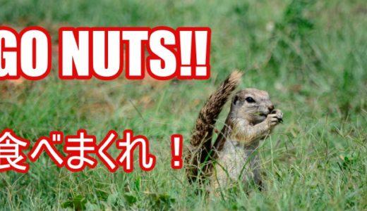 ネイティブが使う「go nuts」に秘められた3つの意味