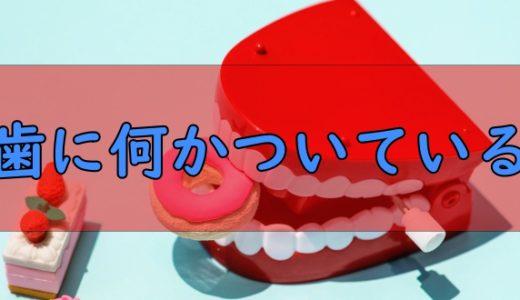 「歯に何かついている」は英語でなんて言う?